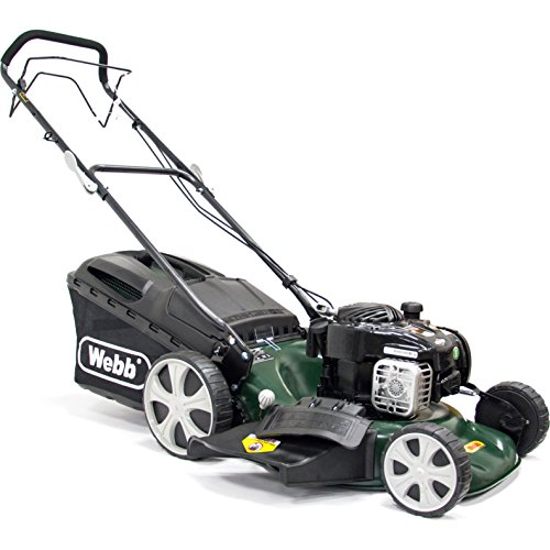 Webb WER18HW 'Supreme' Self-Propelled Hi-Wheel Petrol Lawnmower