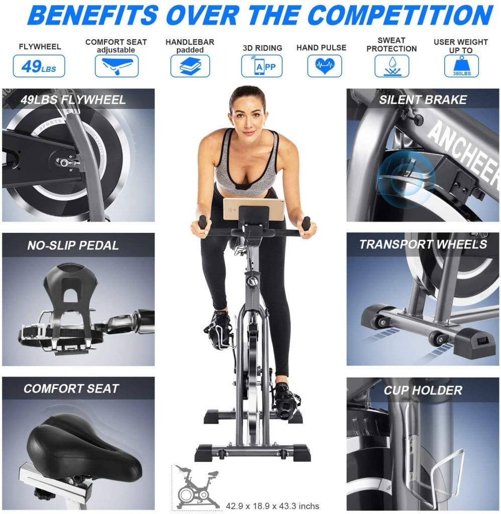 Ancheer Indoor Bike