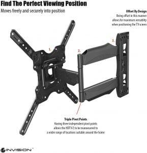 Invision Wall Bracket