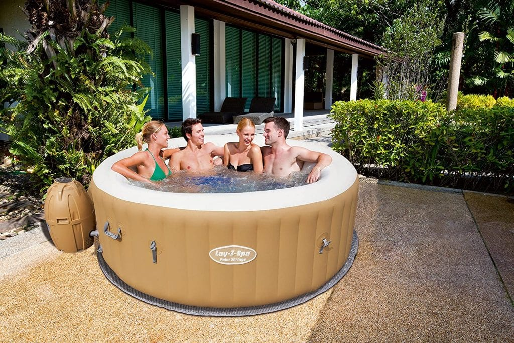 Lay-Z Spa Palm Springs 4-6 Person Inflatable Hot Tub