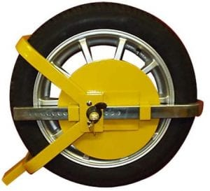 Bargains Galore Caravan Wheel Lock