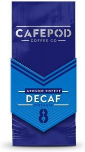 Cafepod Decaf Ground Coffee