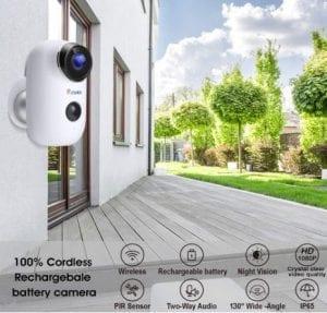 Ctronics WiFi Camera