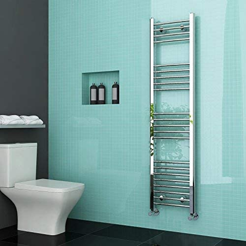Elegant Chrome Heated Towel Rail Electric Radiators