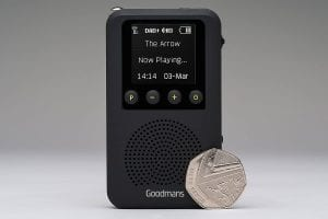 Goodmans Pocket DAB Radio