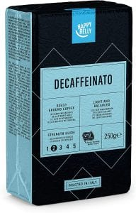 Happy Belly Ground Coffee - Decaffeinato