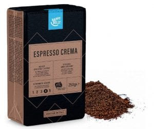 Happy Belly Ground Coffee - Espresso Crema