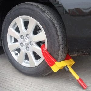 Keraiz Car Wheel Security Clamp