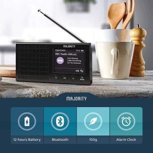 Majority Eddington Portable DAB Radio