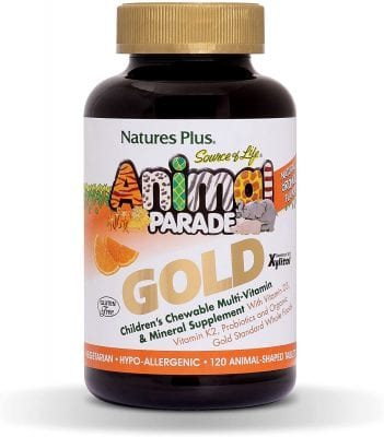 Nature's Plus Animal Parade Chewable Multivitamin