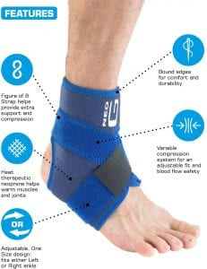 Neo G Ankle Support - Figure of 8
