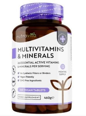 Nutravita 365 Vegan Tablets