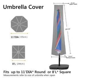 RATEL Parasol Cover