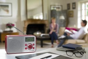 Sony Compact Retro Style Digital Radio