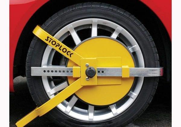 Caravan Wheel Lock