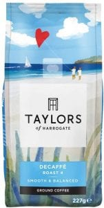 Taylors Of Harrogate Decaffe Ground Coffee
