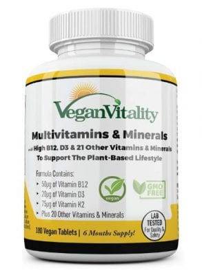 VeganVitality Multivitmain