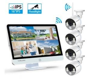 Yeskamo WIFI IP Camera | Wire Free CCTV